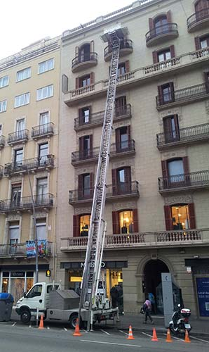 elevador de muebles en barcelona